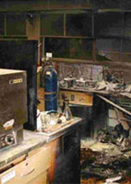 Chemical Laboratory Fire