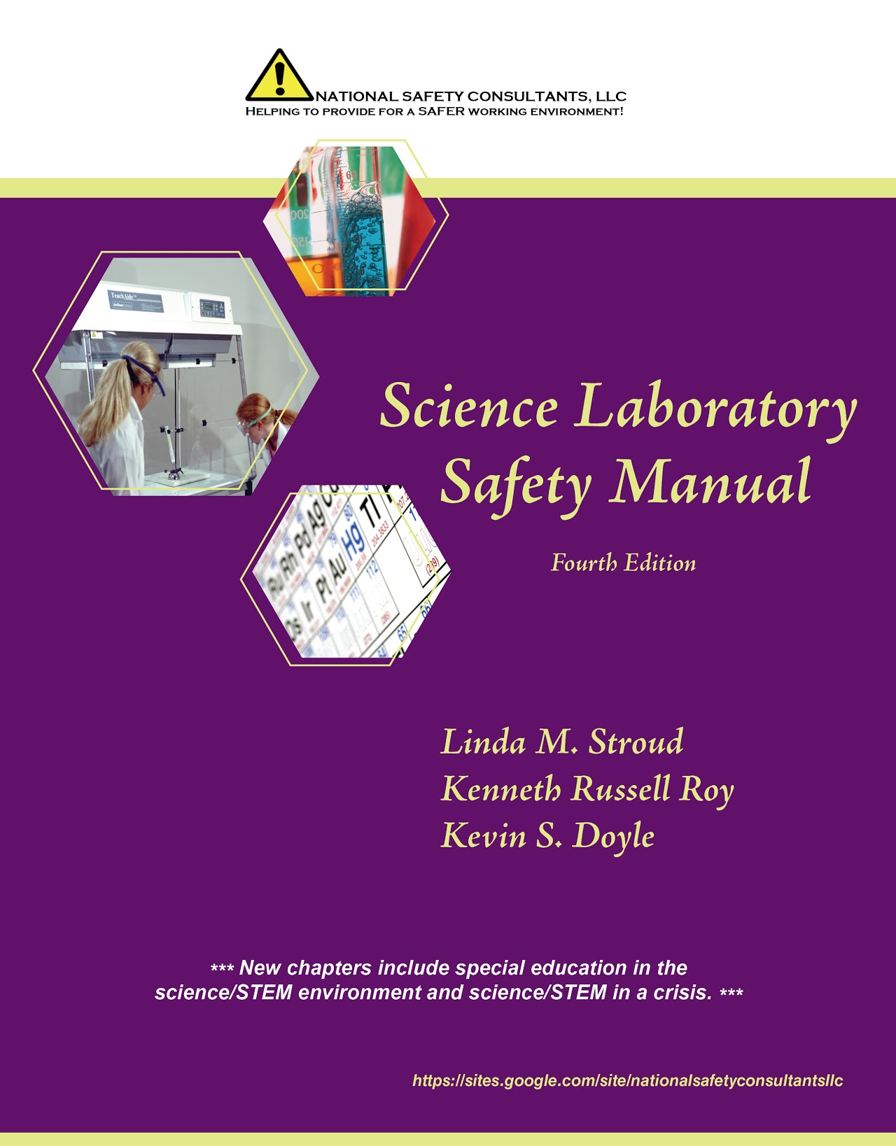 Science Lab Safety Manual Cover