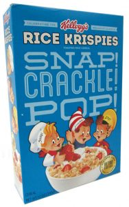 Snap Crackle Pop Cereal Box