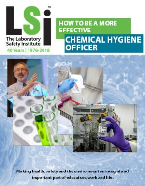 Chemical Hygiene Officer Notebook Cover