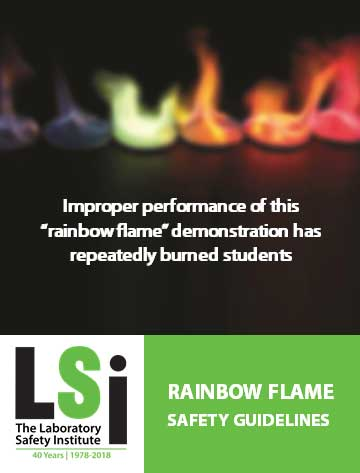Rainbow Flame Demonstration Guidelines