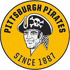 Pittsburgh Pirates' Historical Logo with Skull and Crossbones