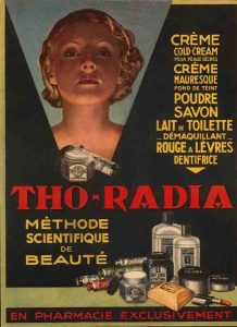 Advertisement for Tho-radia