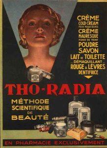 Advertisement for Tho-radia
