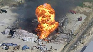 Chemical Explosion in Cresson