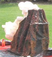 Volcano Science Experiment